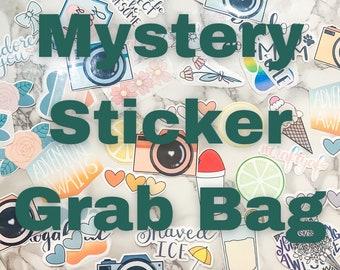 Mystery Sticker Grab Bag Waterproof Stickers