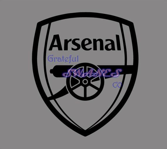 Arsenal Logo Clipart Svg Instant Download Etsy