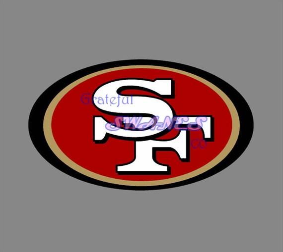 San Francisco 49ers Logo Svg Files Etsy