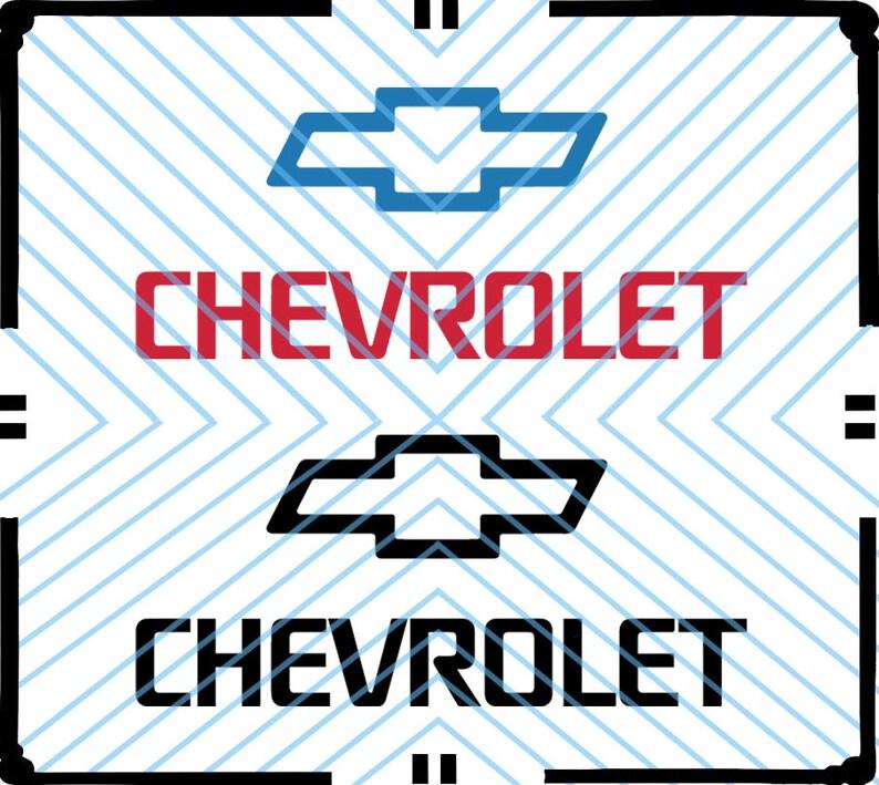 Chevrolet Logo Svg Chevrolet Clipart Etsy