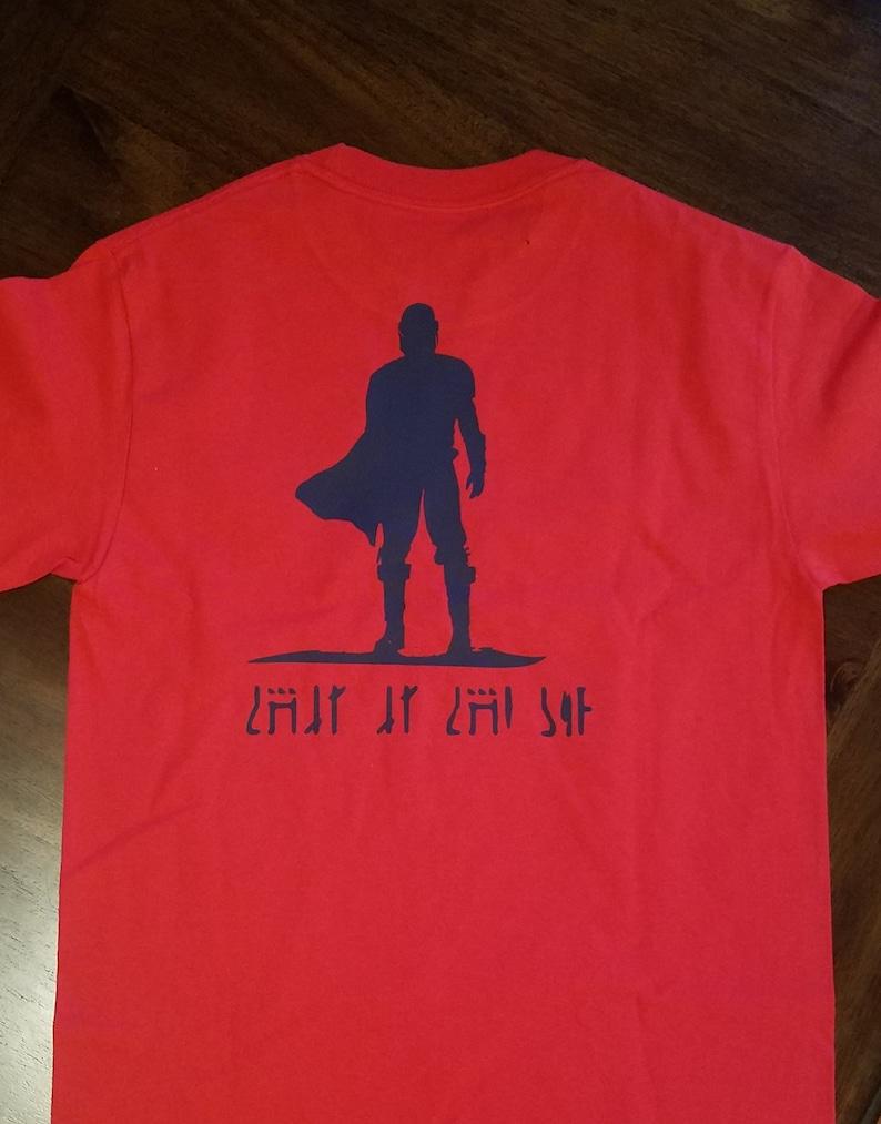 This is the Way shirt Mandalorian
