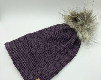 Women's knit beanie