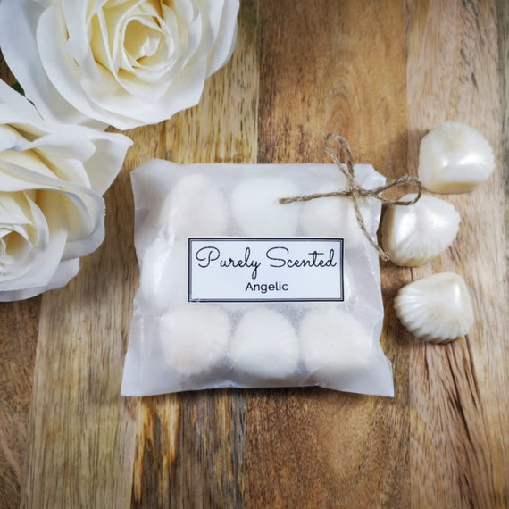 Angelic Highly Scented Hand Poured Soy Wax Melt - Pearlescent Shells