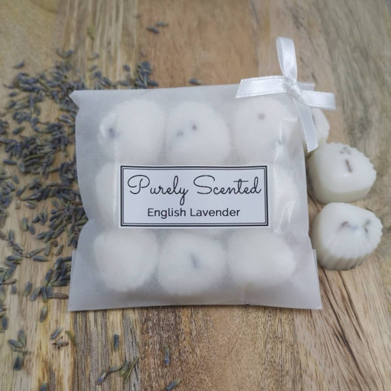 English Lavender Highly Scented Hand PouredSoyWax Melt - Mini Shells