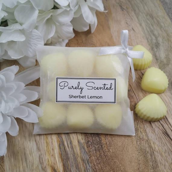 Sherbet Lemon Highly Scented Hand PouredSoyWax Melt - Mini Shells