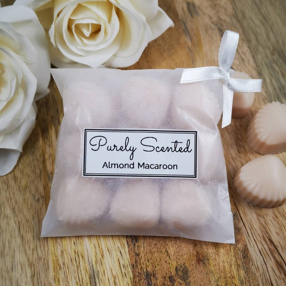 Almond Macaroon Highly Scented Hand PouredSoyWax Melt - Mini Shells