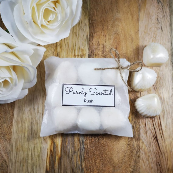 Rush Highly Scented Hand Poured Soy Wax Melt - Pearlescent Shells