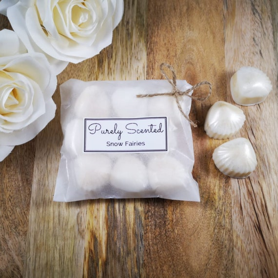 Snow Fairies Highly Scented Hand Poured Soy Wax Melt - Pearlescent Shells