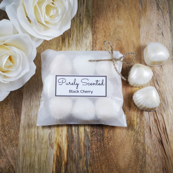 Black Cherry Highly Scented Hand PouredSoyWax Melt - Pearlescent Shells
