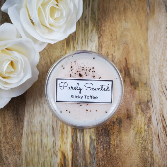 Sticky Toffee Highly Scented Hand PouredSoyWax Melt - Pot Shot