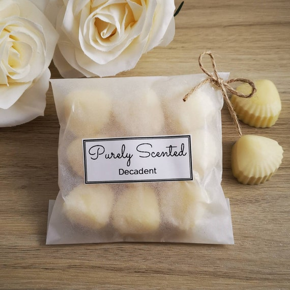 Decadent Highly Scented Hand PouredSoyWax Melt - Mini Shells