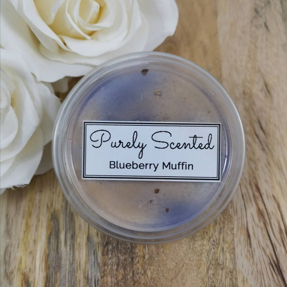 Blueberry Muffin Highly Scented Hand Poured Soy Wax Melt - Pot
