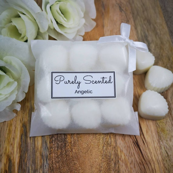 Angelic Highly Scented Hand Poured Soy Wax Melt - Mini Shells