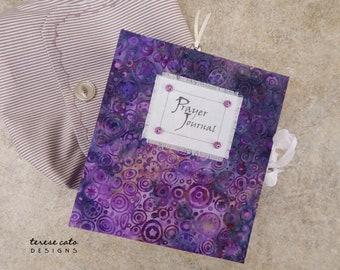 Prayer Journal, Handmade Book, Bible Journal, Inspirational Journal, Creative Journal, Junk Journal, Diary, Handmade Journals And Notebook