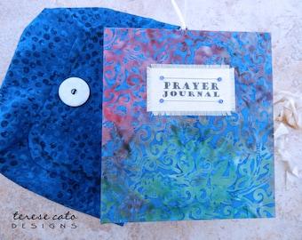 Prayer Journal, Handmade Book, Bible Journal, Inspirational Journal, Creative Journal, Junk Journal, Diary, Handmade Journal and Notebook