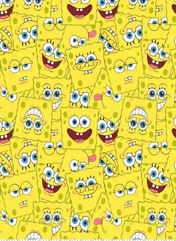 SpongeBob Square Pants /& Patrick Star Fish Fleece Blanket Throw NEW