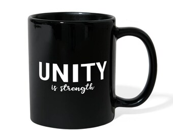 Interracial Unity Water Bottle Racial Justice Travel Mug Unity Glitter Tumbler