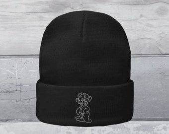 winter hat woolly hat wooly hat Seven dwarfs dopey beanie hat