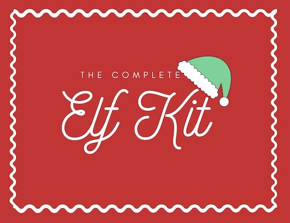 The Complete Elf Kit  Elf Activity  Christmas Kit