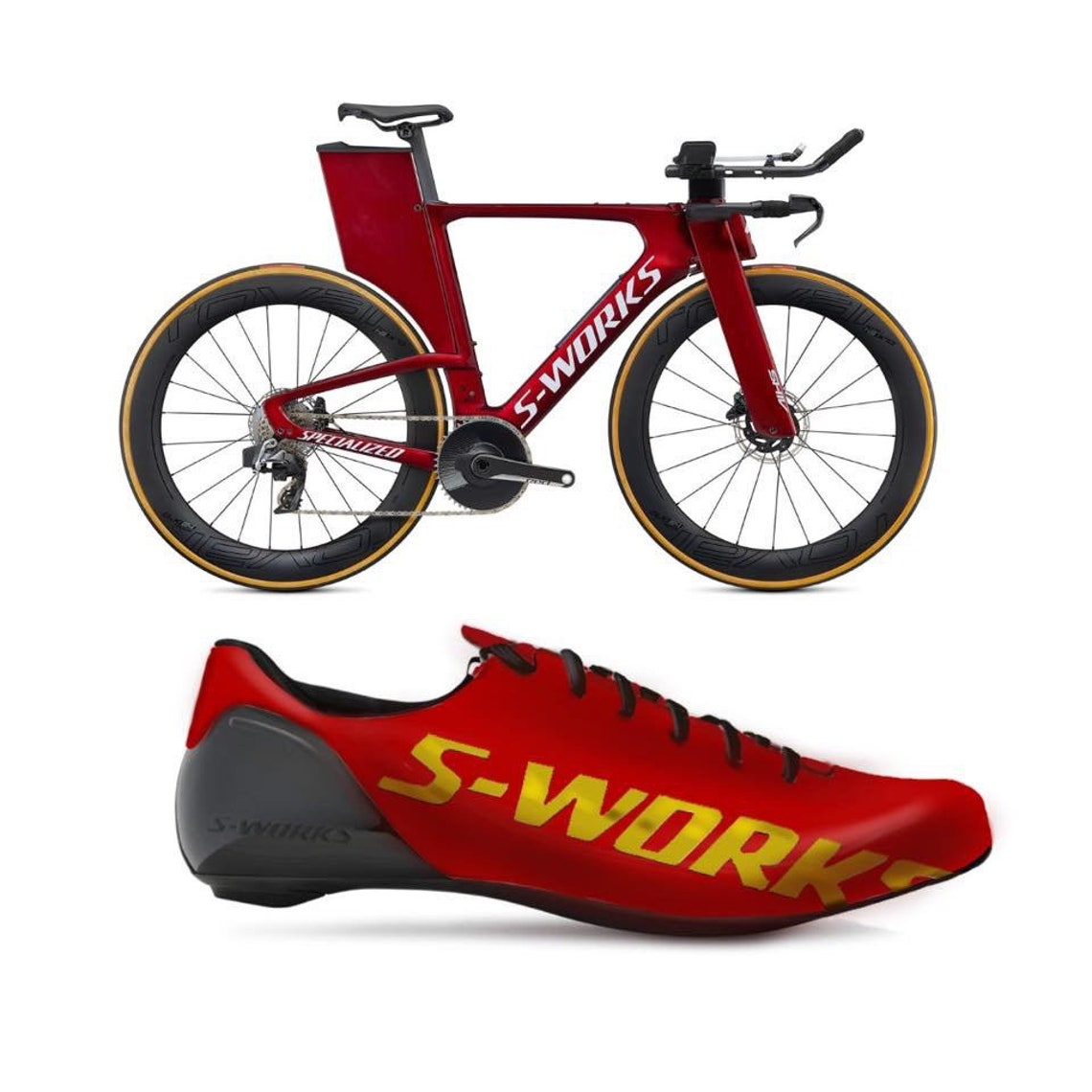 Custom Painted Cycling shoes, Logo & Color matching, hand painted shoes made to order