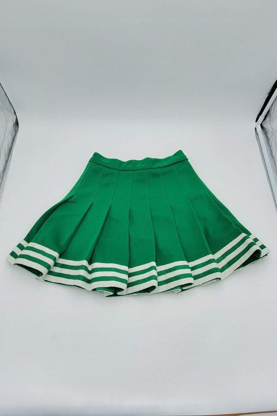 Vintage Cheerleading Skirt / Kandel Knitting Mills