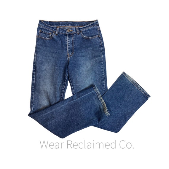 Vintage 90s Jordache Stretch Denim Blue Jeans Sand