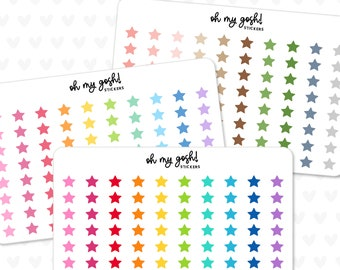 Tiny STAR Planner Stickers    S64