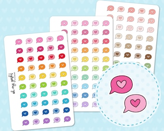 COMMENT Doodle Icon Planner Stickers    I70
