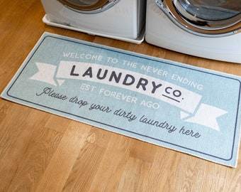 Laundry Room Rug Etsy