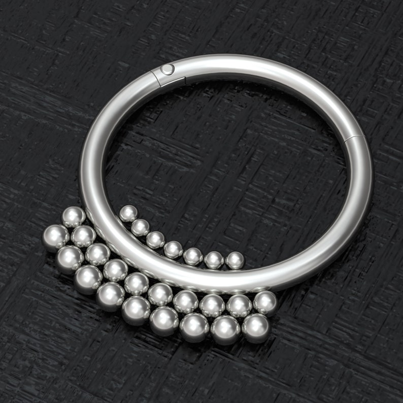 Nipple Ring Titanium Implant Grade Nipple Jewelry Piercing Nipple Clicker Earring Nipple Hoop Jewelry Body Piercing Jewelry