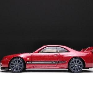 Hotwheels Nissan Skyline GT-R R33 porte-clés Diecast Voiture