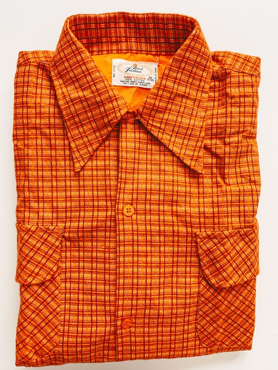 Vintage Lord James Flannel - 100% Cotton - Sanfori
