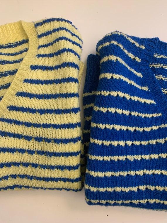 Vintage Handmade Sweater Set