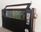Vintage Transistor Radio Horizon Ocean 205 Soviet Retro Original Working Radio FM