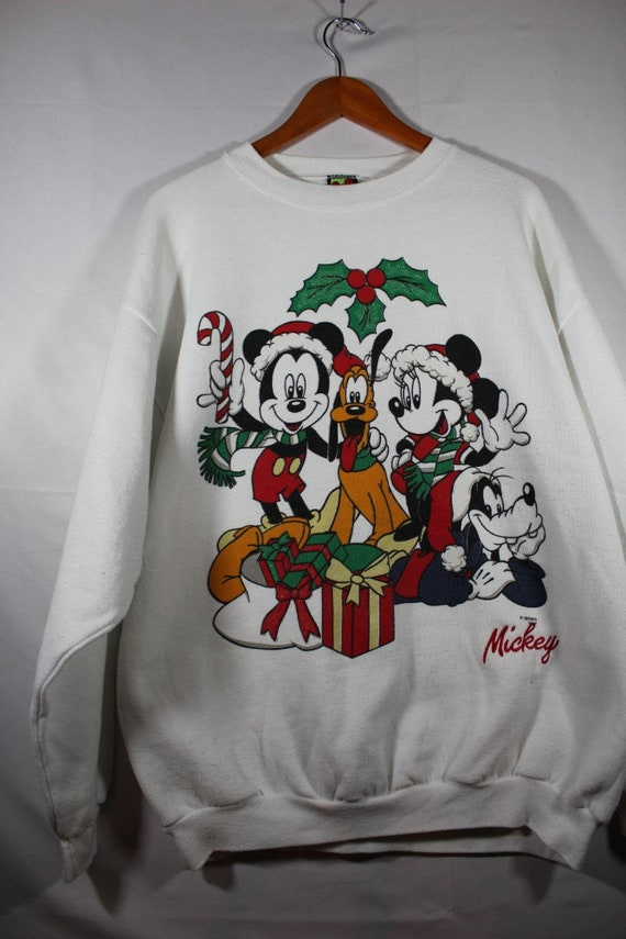 Vintage Micky mouse Christmas sweater