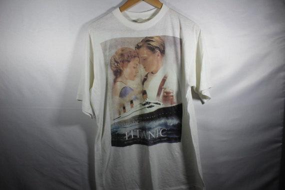 Vintage titanic promo shirt