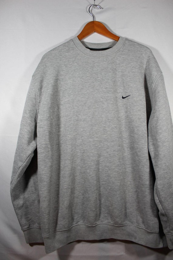 vintage nike check sweater