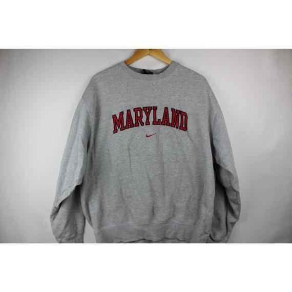 Vintage nike Maryland Center check