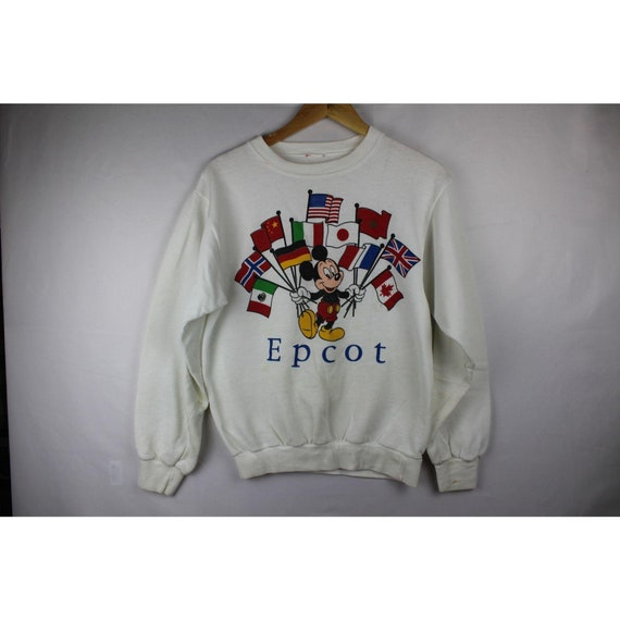 vintage Epcot Mickey mouse sweater