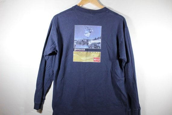 vintage quicksilver skateboard shirt