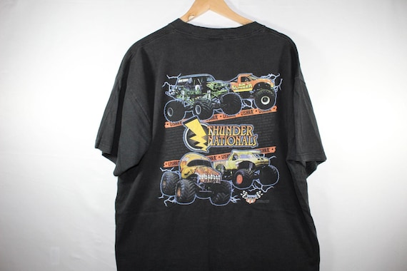 2000s thunder nation monster truck shirt