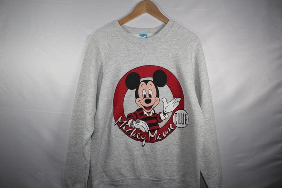 Vintage mickey mouse club sweater