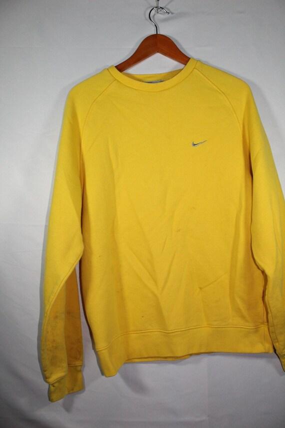 nike check sweater