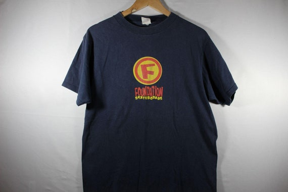 vintage foundations skateboard shirt