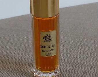 1960s Sortilege Extrait de Parfum le Galion 7ml very rare