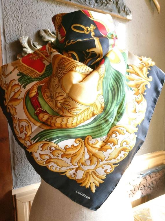 Vintage Codello Empire Silk Neck scarf scarf scarf