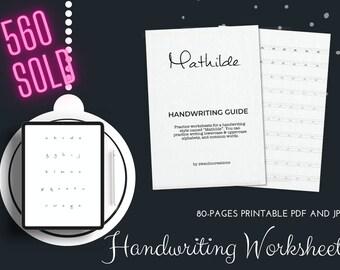 140 Handwriting Styles Bundle Pack