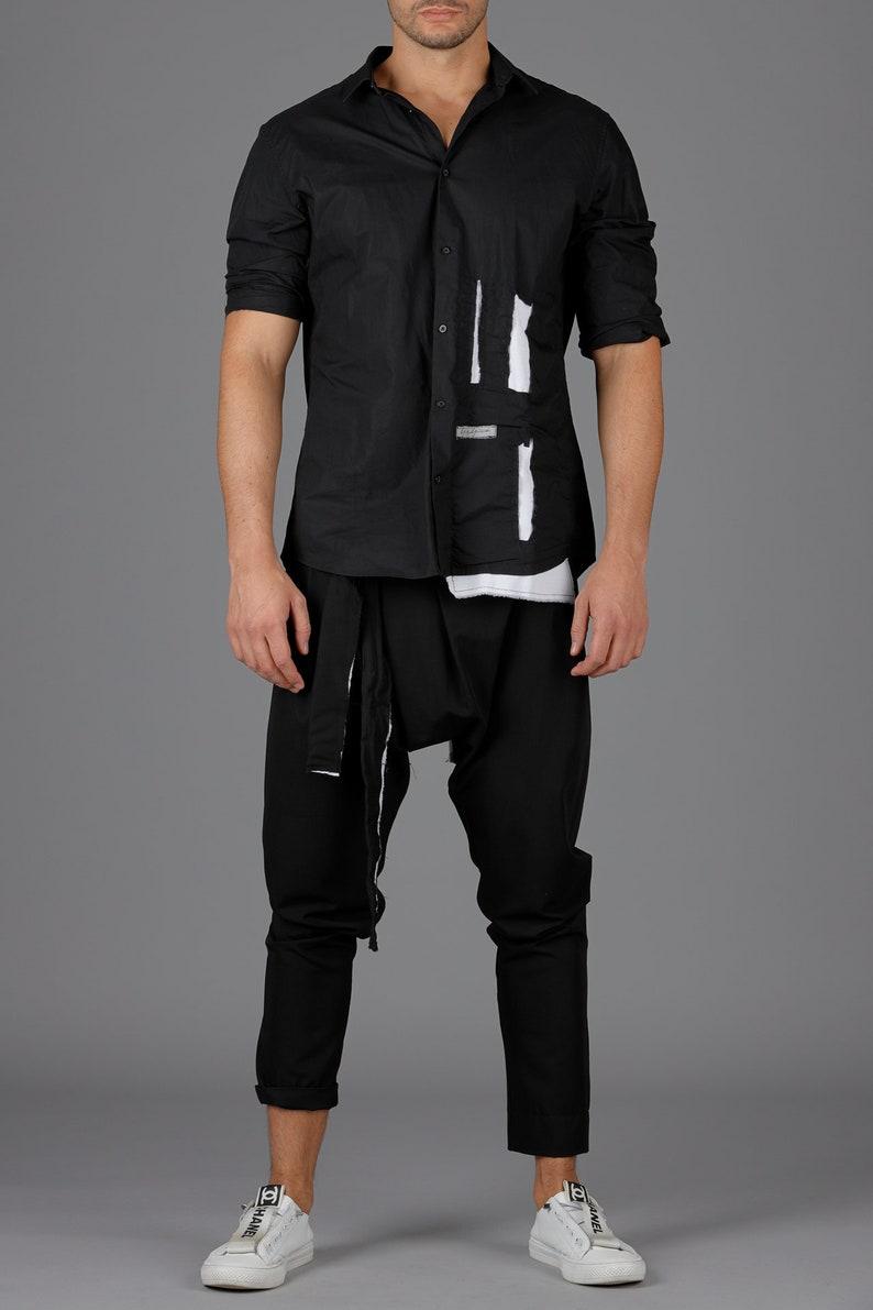 Designer Men/'s Pants  Casual Men  Fashion Men Pants  Black Pants