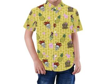 Halloween Tiki Toddler Shirt
