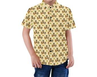 Tiki Gods Toddler Hawaiian Shirt